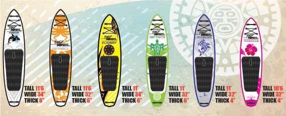 Inflatable TRIBAL SUP Boards – Performance & Style